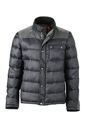 Imbottita black Coal Trendy Winter Giacca Men's Jacket Invernale Dettagli Con 5xzwRnpfqO