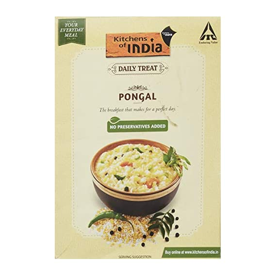 Kitchens Of India Daily Treat Pongal, 285g