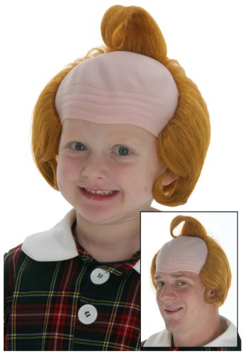 Fun Costumes mens Single Curl Munchkin Wig Standard (Munchkin Costumes Wizard Of Oz)