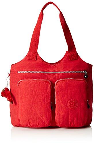 Kipling Women's Armide Shopper, Red (REF35J Vibrant Red), 47x35x13 cm (B X H X T)
