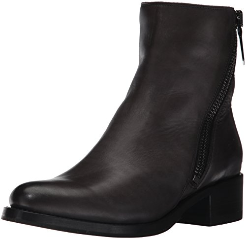 8 Soft 5 M Grain Women's Demi Bootie US Polished Boot Charcoal FRYE Zip Full ZC0vwxn