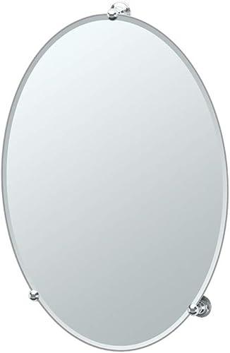 Gatco 1565 Oldenburg Frameless Mirror Chrome, 27.5 H x 19.5 W