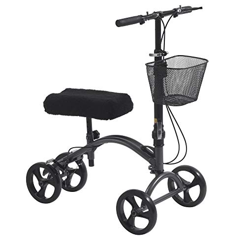 Drive Medical DV8 Aluminum Steerable Knee Walker Crutch ()