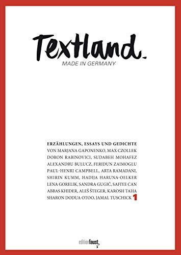 Amazoncom Textland Made In Germany Erzählungen Essays