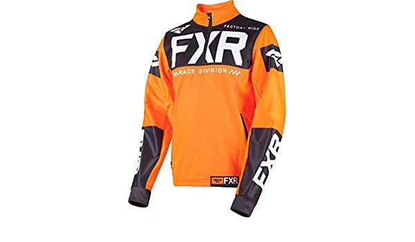 FXR 2019 Cold Cross RR Pullover Medium Orange//Black//White