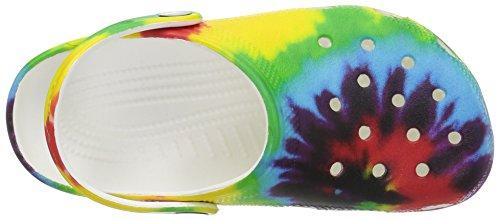 Crocs Unisex Classic Tie Dye Graphic Clog K, Multi, 12 M US Little Kid by Crocs (Image #8)