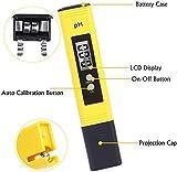Digital PH Meter, PH Meter 0.01 Resolution Pocket