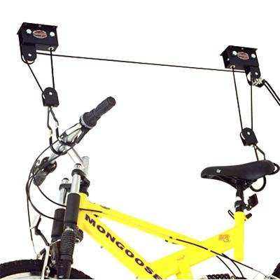 Gear Up 40030 Up and Away Deluxe Hoist System with Accessory Straps, Black - Deluxe Hoist