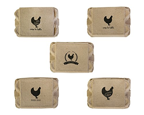 Farm Fresh Egg Cartons (20 Pieces)