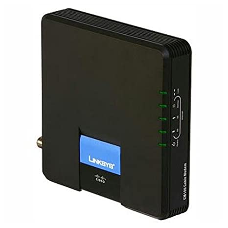 amazon com cisco linksys cable modem with ethernet usb connection rh amazon com linksys router cable modem setup linksys cable modem cm100 specs