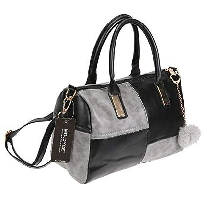 92f3f37d25 BranXin - Leather Handbags Big Women Bag Casual Female Bag Trunk Tote  Spanish Brand Shoulder Bag Ladies Large Bolsos Tote Bag  Black   Amazon.ca   Home   ...