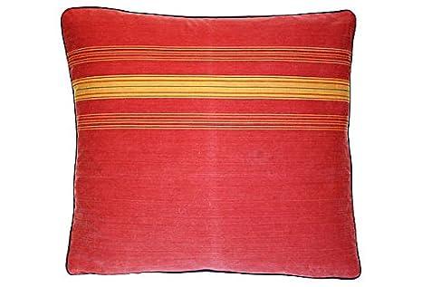 Amazon.com: Francés Rojo y dorado tic-tac almohada vpl00335 ...