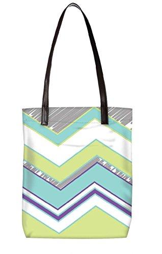 Borsa Da Spiaggia Snoogg, Multicolore (multicolore) - Ltr-bl-2368-totebag