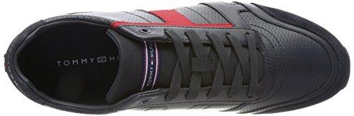 L2285eeds Sneakers Hilfiger 2c1 Homme Tommy Basses Rwb Noir 5wqBf
