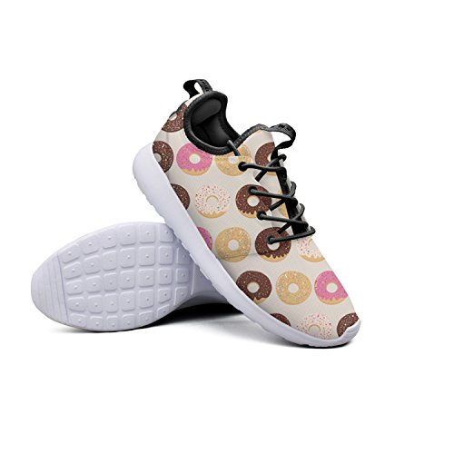 Mimosa Dessert (YYuuijk Dessert Donuts-01 Cool Men's Running Shoes Casual Cute Comfortable Trendy Hip Hop Retro Retro Vintage Popular Mesh Lightweight Athletic Sneakers)