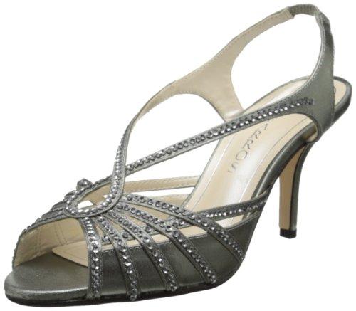 Caparros Women's Kaycee 2 Dress Sandal,Mercury Metallic Satin,6 M US