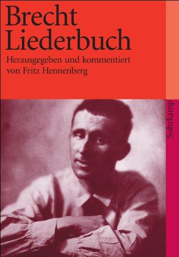 Das große Brecht-Liederbuch (suhrkamp taschenbuch)