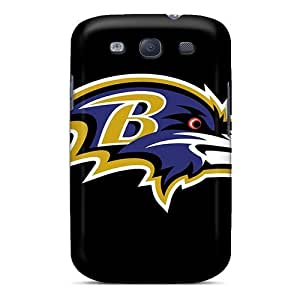 Brand New S3 Defender Cases For Galaxy (baltimore Ravens)