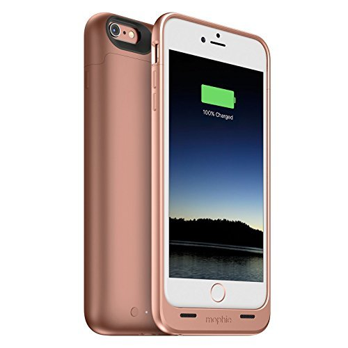 Mophie Juice Pack Battery Case for iPhone 6 Plus/6S Plus, Rose Gold (Certified Refurbished)
