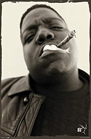 Notorious Big Poster Drucken (60,96 x 91,44 cm)