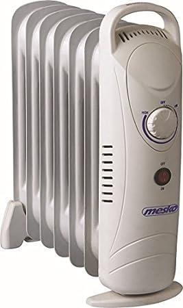 Mesko MS7804 Radiador de Aceite 7 Elementos, 700W: Amazon.es: Electrónica