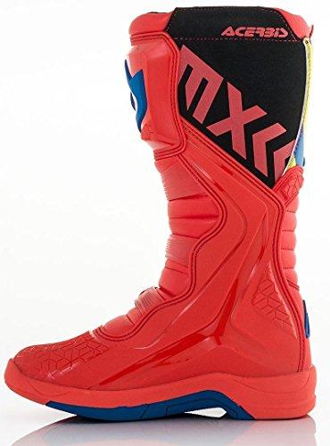 Rojo X Botas blanco Motocross Acerbis Amarillo Amarillo Team De Y x04AHPt