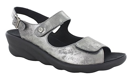 (WOLKY Womens Sandals 3125 Scala Light Gray, Size-38 )
