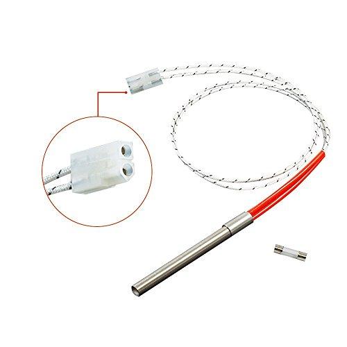 Grill Element (soldbbq Hot Probe Rod Replacement for Traeger Wood Pellet Grills,Single, 200 Watt, 120 Volt, 24