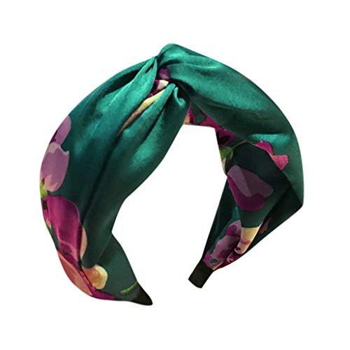 Sensing Flag - Elastic Rhinestone Beaded Women Headbands Bohemian Floral Style Elastic Hair Hoop for Girls Fashion Hair Accessories