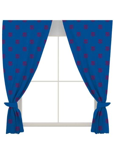 FC Barcelona Crest Curtains   54u0026quot; ...