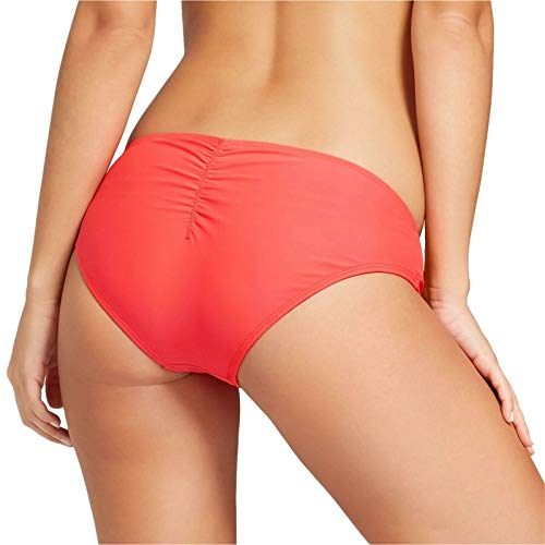 (Xhilaration Women's Swim Swimwear Cheeky Wide Side Hipster Bikini Bottom Fruit Punch M )