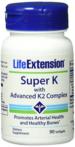 Life Extension Super K, 1er Pack (1 x 90 Stück)