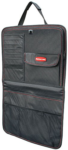 Rubbermaid Mobile Organization 3325-00 Back Seat Organizer - Black