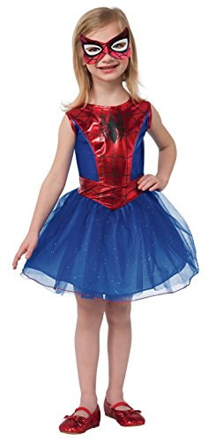 [Rubie's Marvel Universe Classic Collection Spider-Girl Costume, Child Large] (Halloween Costumes For Girl Kids)