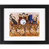 Ginas Jazz Guys - Music Band Framed Art Print