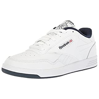Reebok Men's Club MEMT Sneaker, White/Collegiate Navy, 10