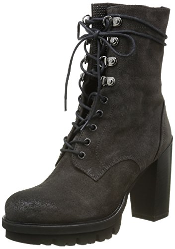 3196 Borchie Botas Now Velour Nere Africa Mujer Marrón Marron SFqwFTd0