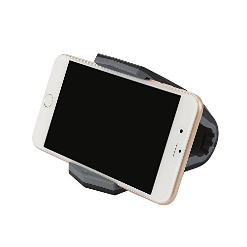 ❤️Jonerytime❤️Universal Car Smart Phone Holder Mount GPS Stand Non-Slip for iPhone (Black) ()
