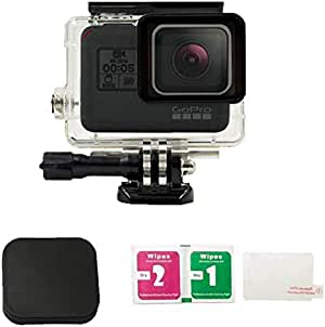 45M Waterproof Case with Go Pro Hero 5 Lens Cover Case and LCD Screen Protective Film for Go Pro Hero 5