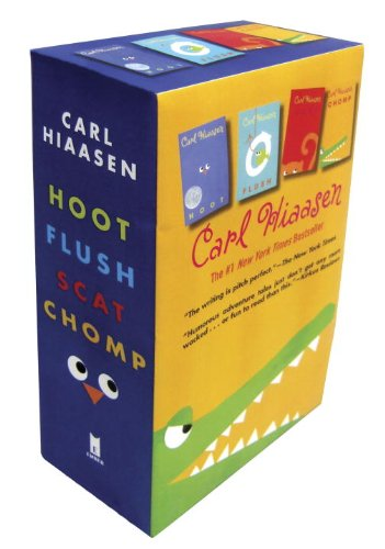 hiaasen-4-book-trade-paperback-box-set-chomp-flush-hoot-scat