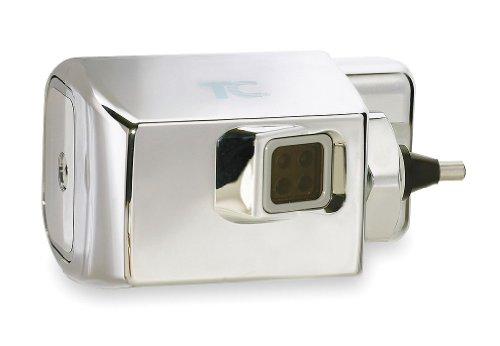 [해외] RUBBERMAID싸이드 마운트SINGLE FLUSH화장실/소변기 flashbulb 레트로 피트 키트 크롬FG401186 A – 1각