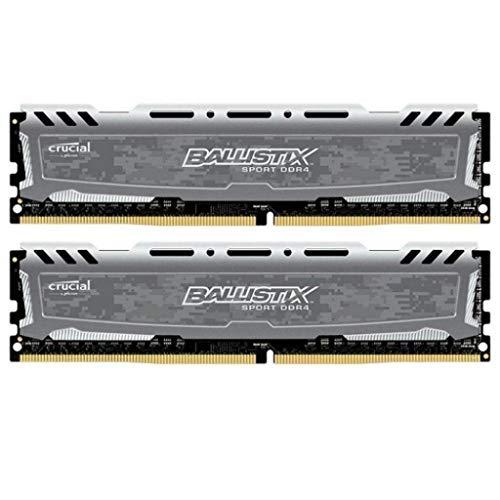 Crucial Ballistix Sport LT 8GB DDR4 2x288, 2400Hz, BLS2C4G4D240FSB (2x288, 2400Hz)