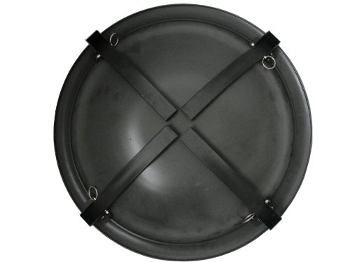 Fire Sense Portable Folding Round Black Steel 22 Inch Fire Pit with Carry Bag | Wood Burning | Mesh Spark Screen, Wood Grate, Cooking Grate, and Screen Lift Tool Included | Lightweight Patio - A Must Buy Item. Built To Last. Great Item To Give as A Gift. - patio, outdoor-decor, fire-pits-outdoor-fireplaces - 410My3cb9vL -