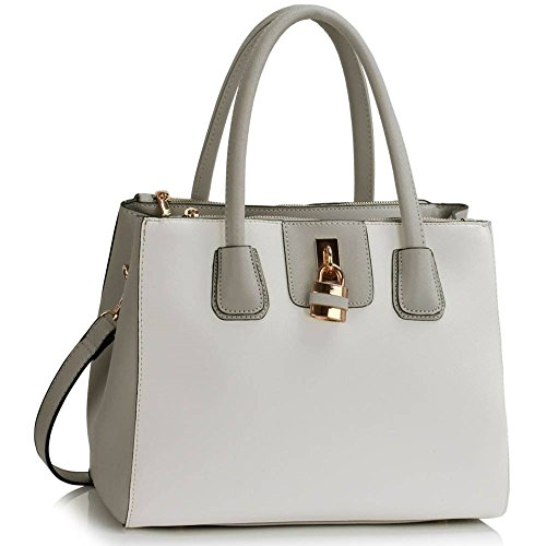 Ladies Bag Quality Tote Large Size Bags Cws00195a Hotselling Handbags Women's Shopper grey Trendy White Fashion Desinger rSqfxwrB