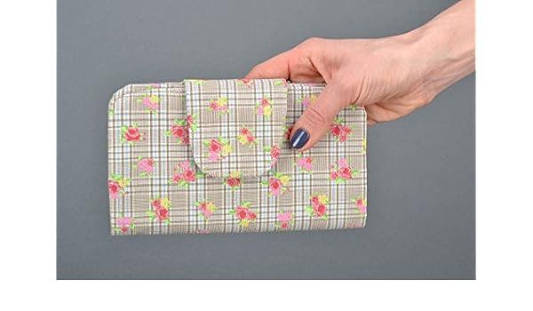 Amazon.com: Handmade Womens Fabric Purse English Rose: Computers & Accessories
