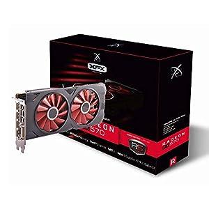 XFX RX-570P8DFD6 Radeon RX 570 RS XXX Edition 1286MHz, 8gb GDDR5, DX12 VR Ready, Dual BIOS, 3xDP HDMI DVI, AMD Graphics…