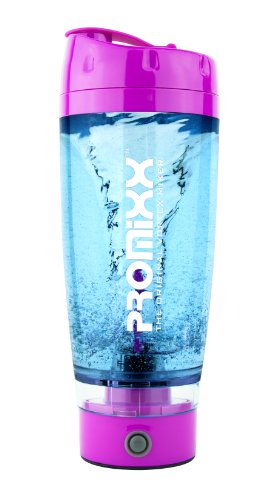 Promixx: The Original Vortex Mixer. Protein Shaker Bottle Evolution. (Pink)