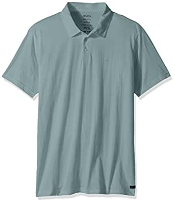 RVCA Men's Sure Thing Ii Polo Shirt, Arona Blue, X-Small