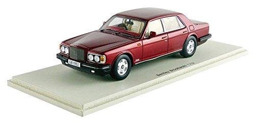 Spark - s3812 - Bentley Brooklands - 1992 - Escala 1/43 - Rojo Metal: Amazon.es: Juguetes y juegos