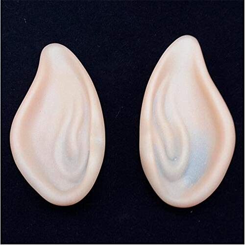 HeroStore Angel Elf Ears Cosplay Accessories LARP Halloween Party Latex Soft Pointed Prosthetic Tips False ears ()